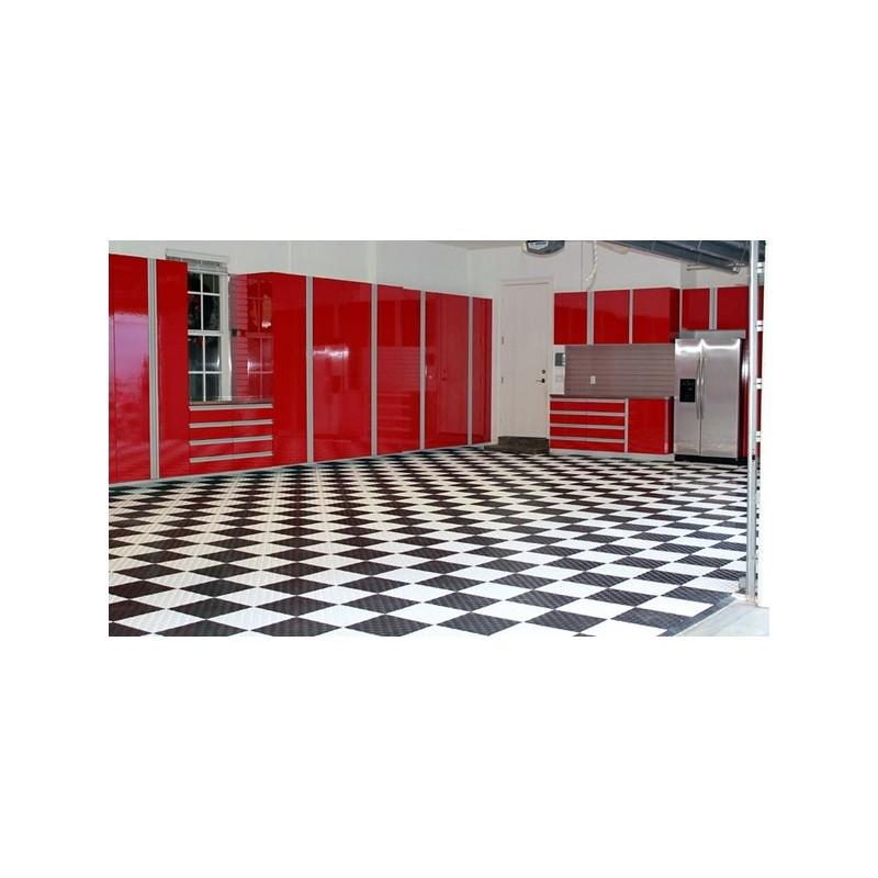 garagegolv m2 kartong 25 st r da plattor knt hjul och verktyg. Black Bedroom Furniture Sets. Home Design Ideas