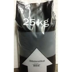 Blästersilikat 0,2-1,5 mm 25 kg säck