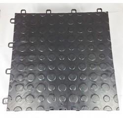 Garagegolv 2.25 m2/kartong (25 st svarta plattor)