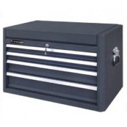 Överskåp/verktygslåda med 4 stycken kullagrade lådor och fack på toppen passar vagn V101-14