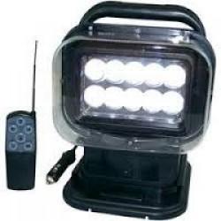 Söklampa 30w led med fjärrkontroll