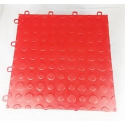 Garagegolv 2.25 m2/kartong (25 st röda plattor)