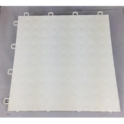 Garagegolv 2.25 m2/kartong (25 st vita plattor)