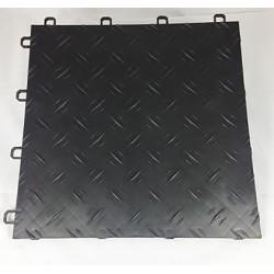 Garagegolv 2 m2/kartong svart Diamond