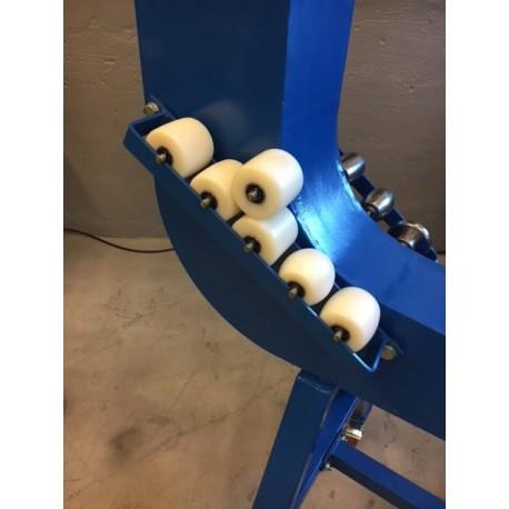 6 stycken underhjul (nylon) till Engelskt hjul