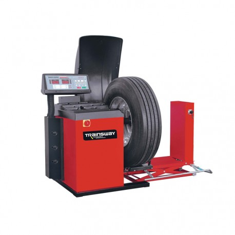 Balanseringsmaskin för stora hjul