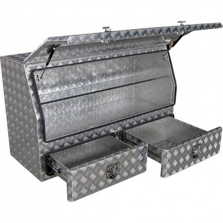 Aluminiumlåda 1420x820x560 mm