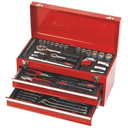 Verktygslåda med 90 stycken verktyg