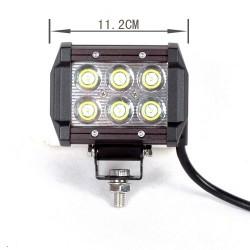 Arbetslampa 18W CREE LEDS