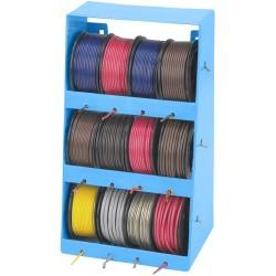 120 Meter kabel inkl hållare