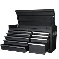 Stort överskåp/verktygslåda med 9 kullagrade lådor passar vagn V101-25