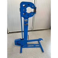 Krymp/sträck maskin med stativ