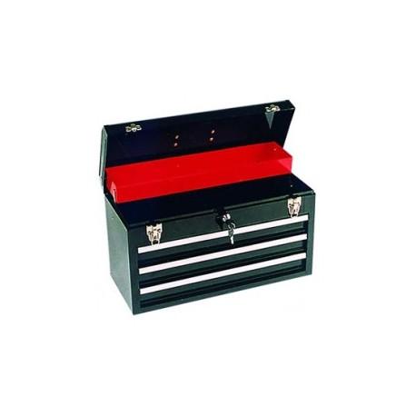 Verktygslåda med 3 st kullagrade lådor och lås - KNT Hjul och Verktyg 78510a6981e08